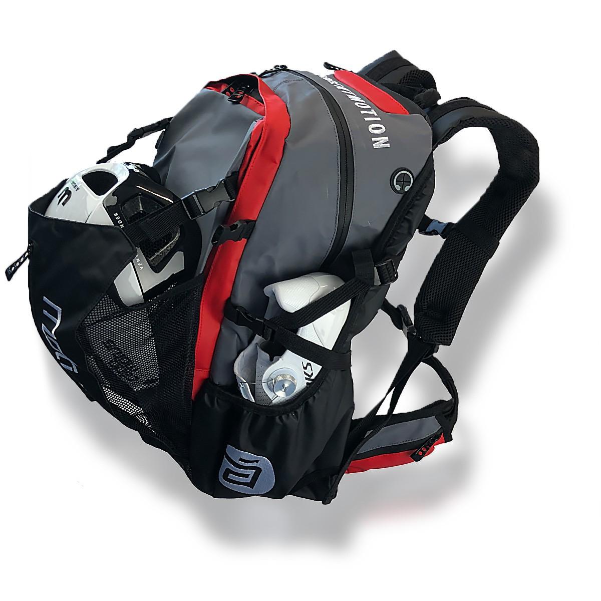 Waterflow Skate Backpack Rot, Rucksack