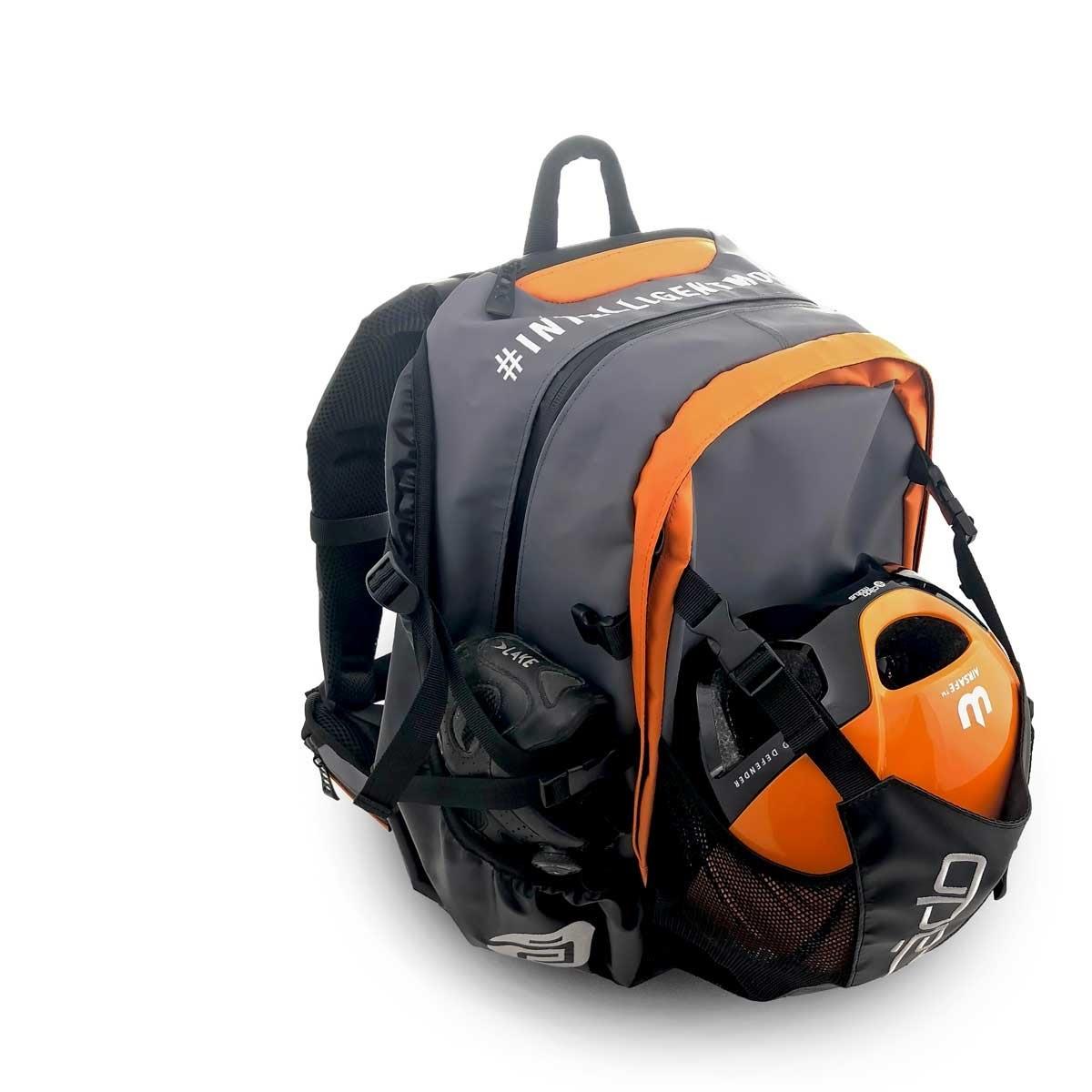 Waterflow Skate Backpack Orange, Rucksack