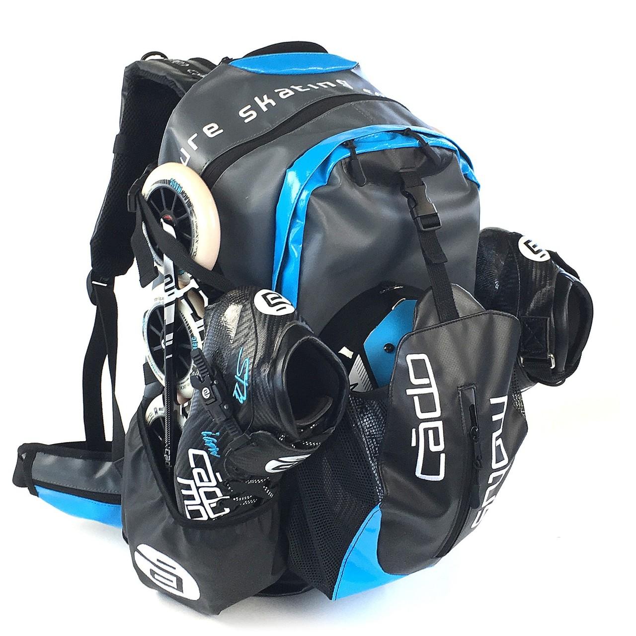 Waterflow Skate Backpack Cyan, Rucksack