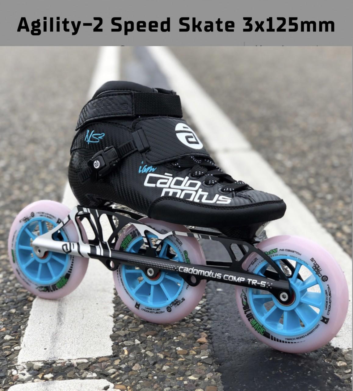 Komplettset Agility-2 Speed Skate 3x110mm